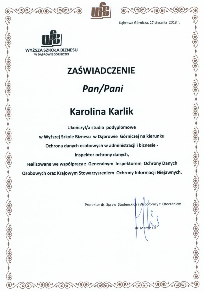 46ef5bff8baad3 Auditor wewnętrzny systemu zarządzania jakością według wymagań normy ISO  9001:2008 w placówkach oświatowych